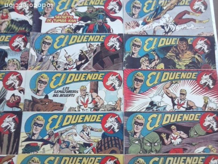Tebeos: EL DUENDE ORIGINAL COMPLETA 1 AL 60 MUY BUEN ESTADO, VER PORTADAS - Foto 7 - 101571419