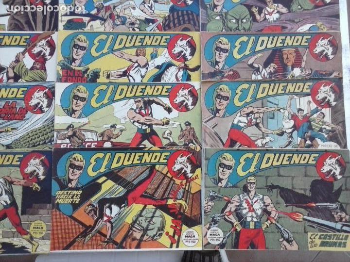 Tebeos: EL DUENDE ORIGINAL COMPLETA 1 AL 60 MUY BUEN ESTADO, VER PORTADAS - Foto 8 - 101571419