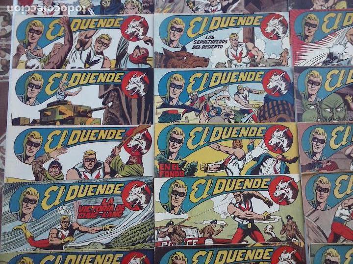 Tebeos: EL DUENDE ORIGINAL COMPLETA 1 AL 60 MUY BUEN ESTADO, VER PORTADAS - Foto 9 - 101571419