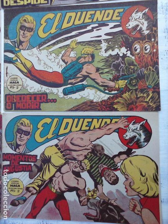 Tebeos: EL DUENDE ORIGINAL COMPLETA 1 AL 60 MUY BUEN ESTADO, VER PORTADAS - Foto 11 - 101571419