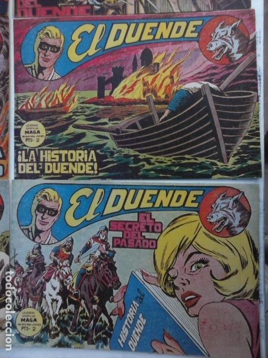 Tebeos: EL DUENDE ORIGINAL COMPLETA 1 AL 60 MUY BUEN ESTADO, VER PORTADAS - Foto 14 - 101571419