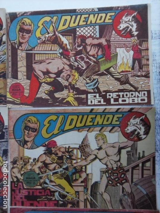 Tebeos: EL DUENDE ORIGINAL COMPLETA 1 AL 60 MUY BUEN ESTADO, VER PORTADAS - Foto 15 - 101571419