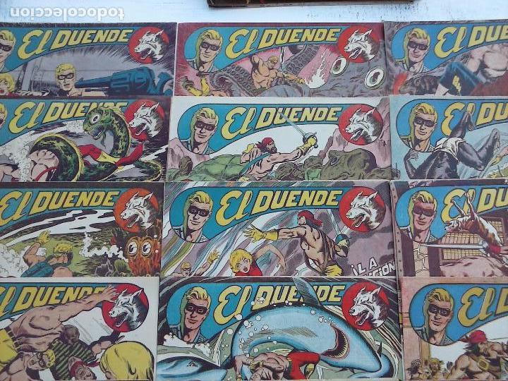 Tebeos: EL DUENDE ORIGINAL COMPLETA 1 AL 60 MUY BUEN ESTADO, VER PORTADAS - Foto 16 - 101571419