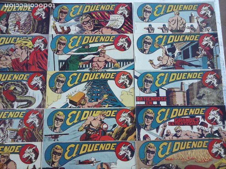 Tebeos: EL DUENDE ORIGINAL COMPLETA 1 AL 60 MUY BUEN ESTADO, VER PORTADAS - Foto 20 - 101571419