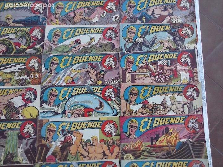Tebeos: EL DUENDE ORIGINAL COMPLETA 1 AL 60 MUY BUEN ESTADO, VER PORTADAS - Foto 24 - 101571419