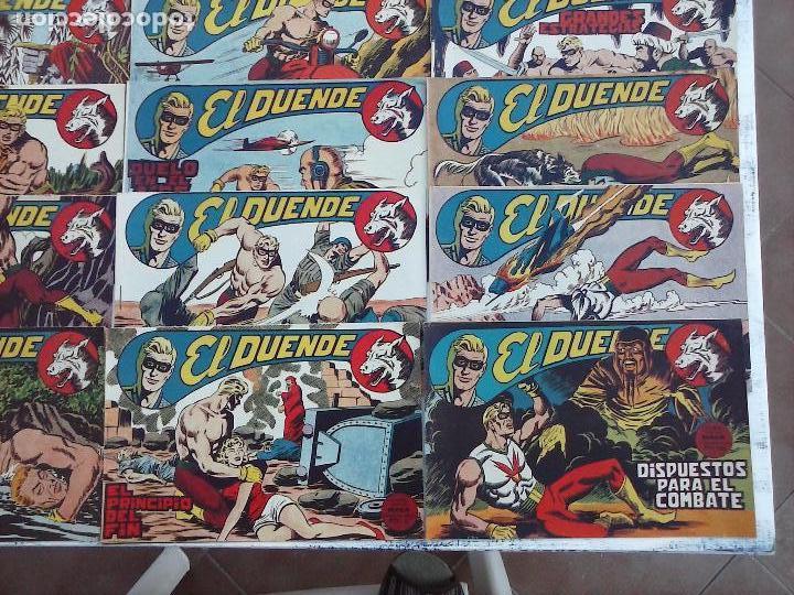 Tebeos: EL DUENDE ORIGINAL COMPLETA 1 AL 60 MUY BUEN ESTADO, VER PORTADAS - Foto 27 - 101571419