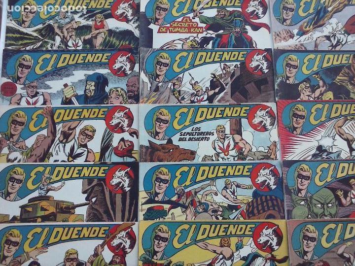 Tebeos: EL DUENDE ORIGINAL COMPLETA 1 AL 60 MUY BUEN ESTADO, VER PORTADAS - Foto 28 - 101571419