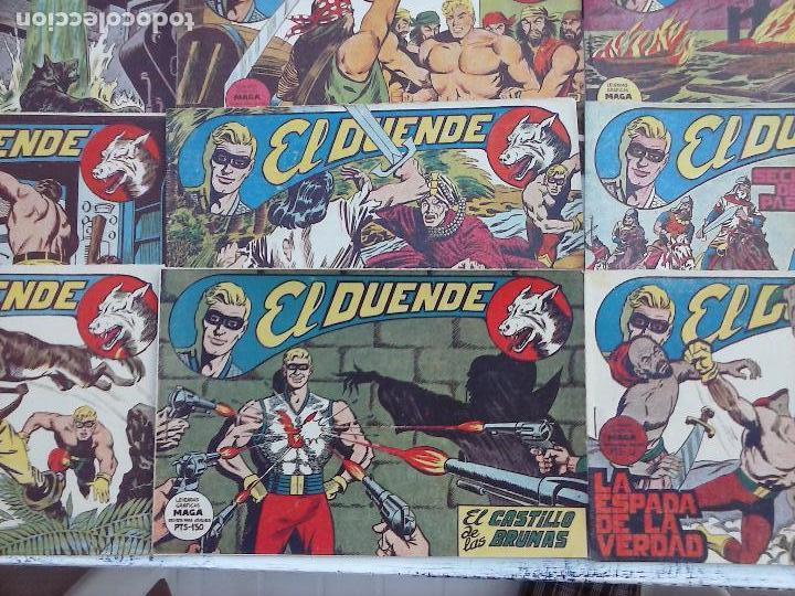 Tebeos: EL DUENDE ORIGINAL COMPLETA 1 AL 60 MUY BUEN ESTADO, VER PORTADAS - Foto 29 - 101571419
