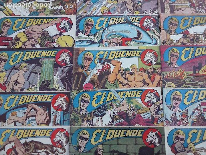 Tebeos: EL DUENDE ORIGINAL COMPLETA 1 AL 60 MUY BUEN ESTADO, VER PORTADAS - Foto 30 - 101571419