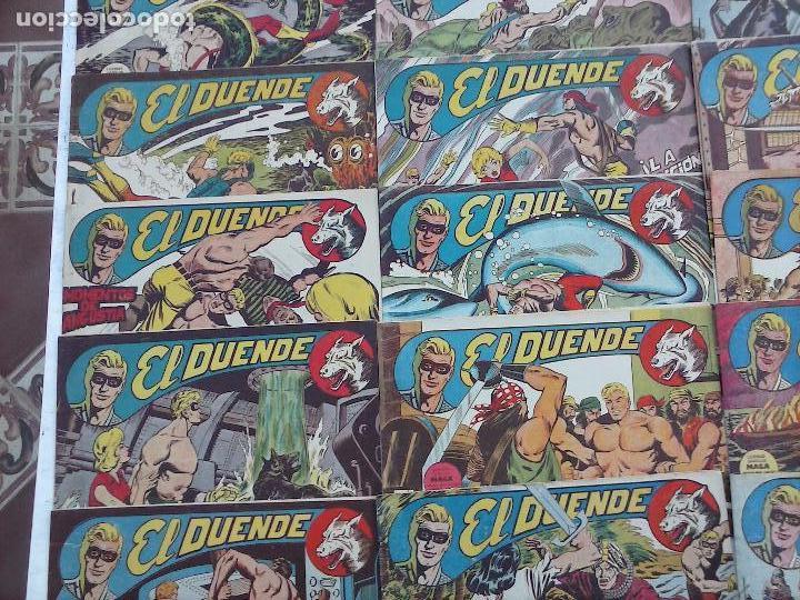 Tebeos: EL DUENDE ORIGINAL COMPLETA 1 AL 60 MUY BUEN ESTADO, VER PORTADAS - Foto 31 - 101571419