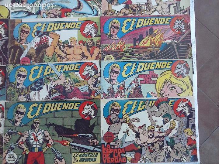Tebeos: EL DUENDE ORIGINAL COMPLETA 1 AL 60 MUY BUEN ESTADO, VER PORTADAS - Foto 32 - 101571419