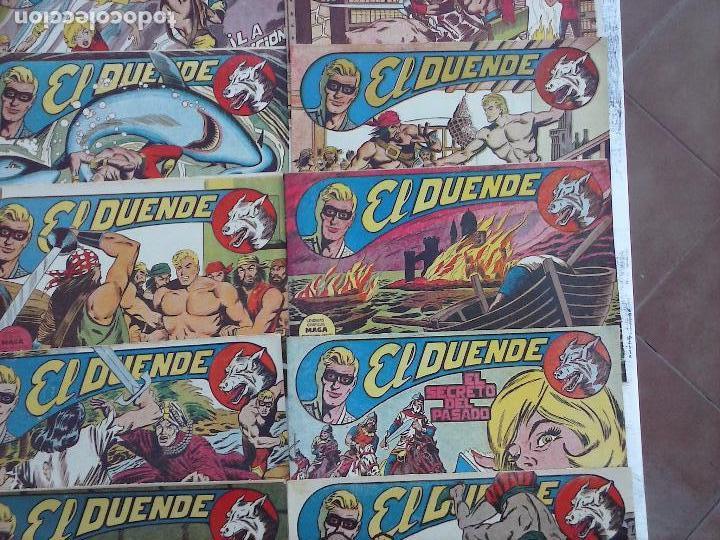 Tebeos: EL DUENDE ORIGINAL COMPLETA 1 AL 60 MUY BUEN ESTADO, VER PORTADAS - Foto 33 - 101571419