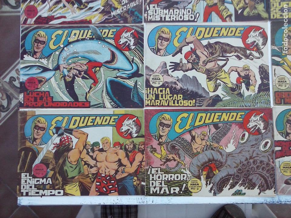 Tebeos: EL DUENDE ORIGINAL COMPLETA 1 AL 60 MUY BUEN ESTADO, VER PORTADAS - Foto 35 - 101571419