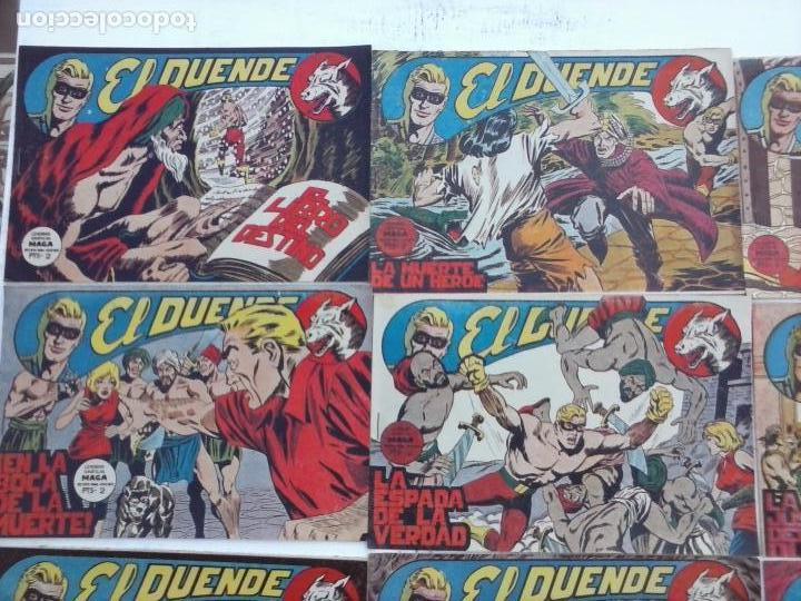 Tebeos: EL DUENDE ORIGINAL COMPLETA 1 AL 60 MUY BUEN ESTADO, VER PORTADAS - Foto 37 - 101571419
