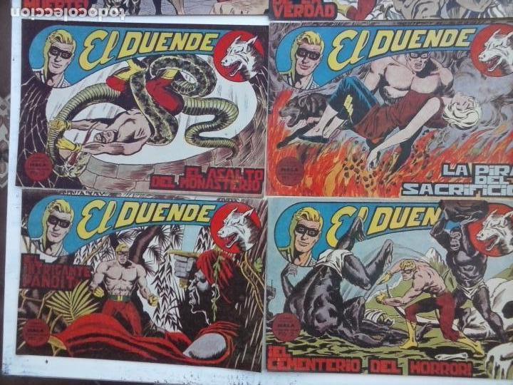 Tebeos: EL DUENDE ORIGINAL COMPLETA 1 AL 60 MUY BUEN ESTADO, VER PORTADAS - Foto 38 - 101571419