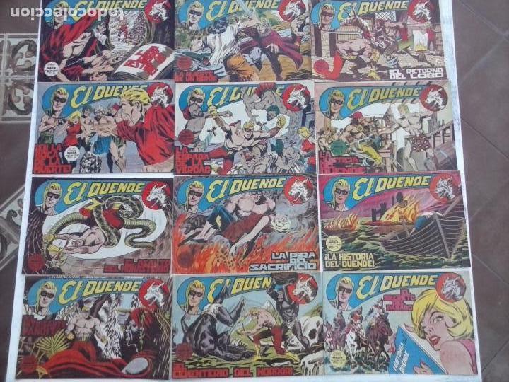 Tebeos: EL DUENDE ORIGINAL COMPLETA 1 AL 60 MUY BUEN ESTADO, VER PORTADAS - Foto 39 - 101571419