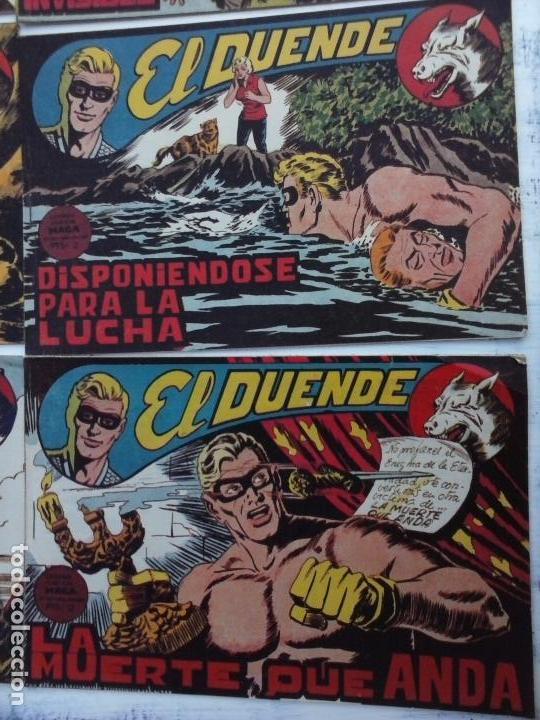 Tebeos: EL DUENDE ORIGINAL COMPLETA 1 AL 60 MUY BUEN ESTADO, VER PORTADAS - Foto 41 - 101571419