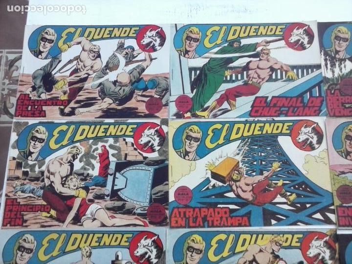 Tebeos: EL DUENDE ORIGINAL COMPLETA 1 AL 60 MUY BUEN ESTADO, VER PORTADAS - Foto 42 - 101571419