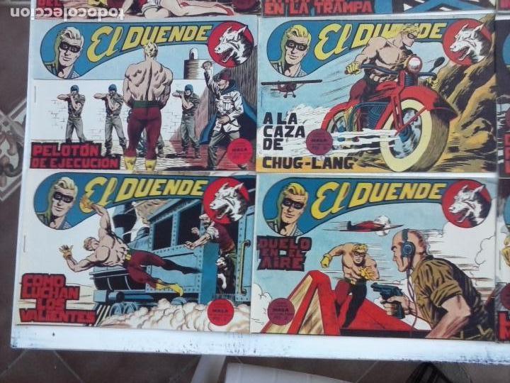 Tebeos: EL DUENDE ORIGINAL COMPLETA 1 AL 60 MUY BUEN ESTADO, VER PORTADAS - Foto 43 - 101571419