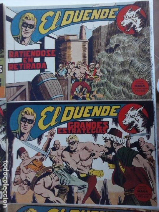 Tebeos: EL DUENDE ORIGINAL COMPLETA 1 AL 60 MUY BUEN ESTADO, VER PORTADAS - Foto 45 - 101571419