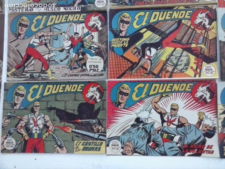 Tebeos: EL DUENDE ORIGINAL COMPLETA 1 AL 60 MUY BUEN ESTADO, VER PORTADAS - Foto 46 - 101571419