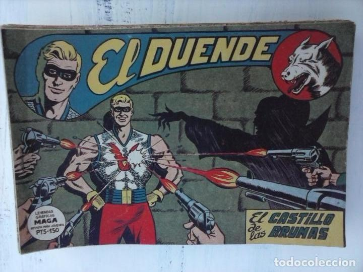 Tebeos: EL DUENDE ORIGINAL COMPLETA 1 AL 60 MUY BUEN ESTADO, VER PORTADAS - Foto 48 - 101571419