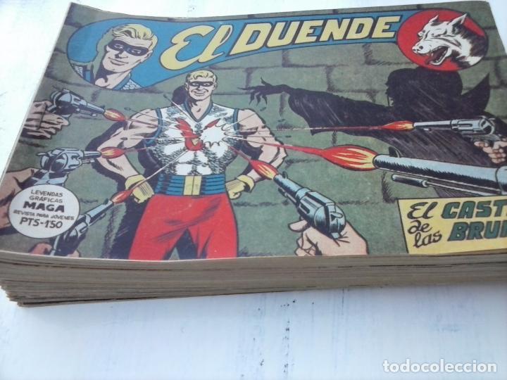 Tebeos: EL DUENDE ORIGINAL COMPLETA 1 AL 60 MUY BUEN ESTADO, VER PORTADAS - Foto 50 - 101571419