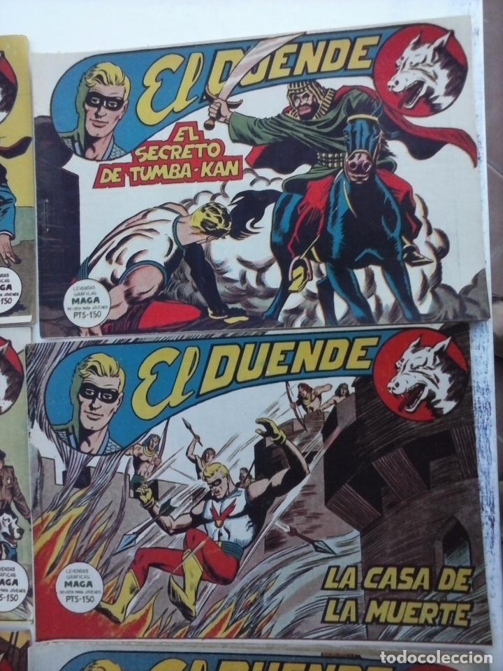 Tebeos: EL DUENDE ORIGINAL COMPLETA 1 AL 60 MUY BUEN ESTADO, VER PORTADAS - Foto 54 - 101571419