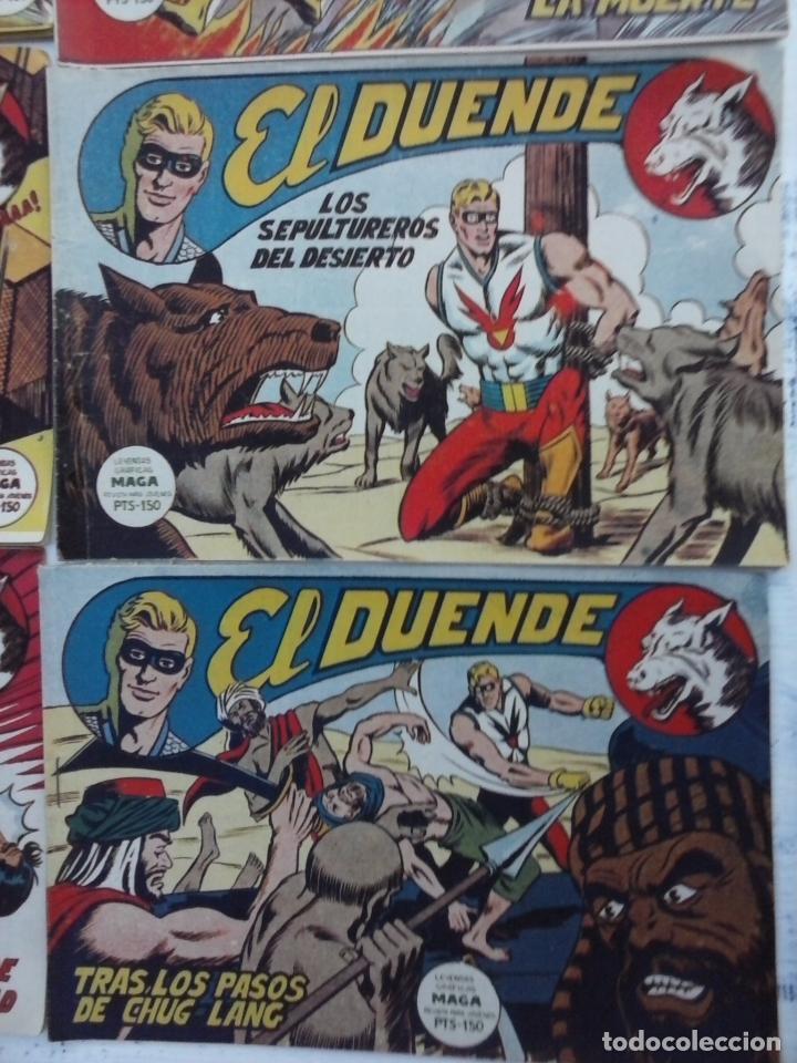 Tebeos: EL DUENDE ORIGINAL COMPLETA 1 AL 60 MUY BUEN ESTADO, VER PORTADAS - Foto 55 - 101571419