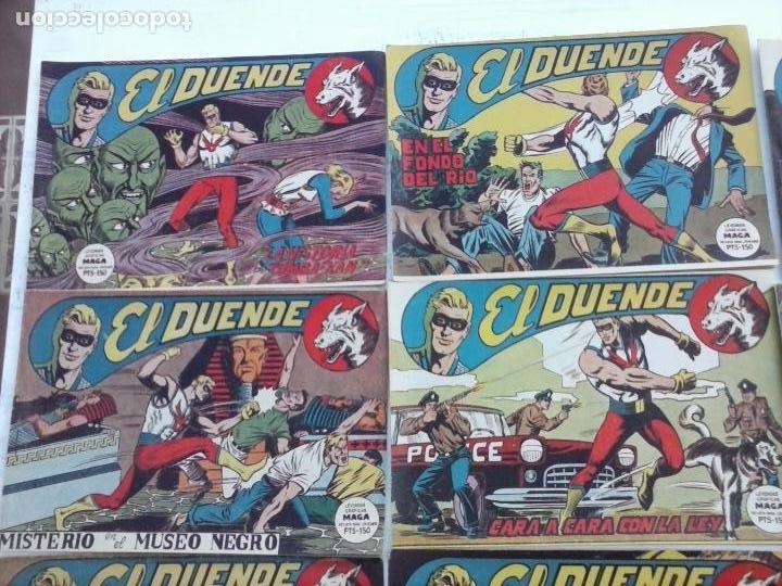Tebeos: EL DUENDE ORIGINAL COMPLETA 1 AL 60 MUY BUEN ESTADO, VER PORTADAS - Foto 56 - 101571419