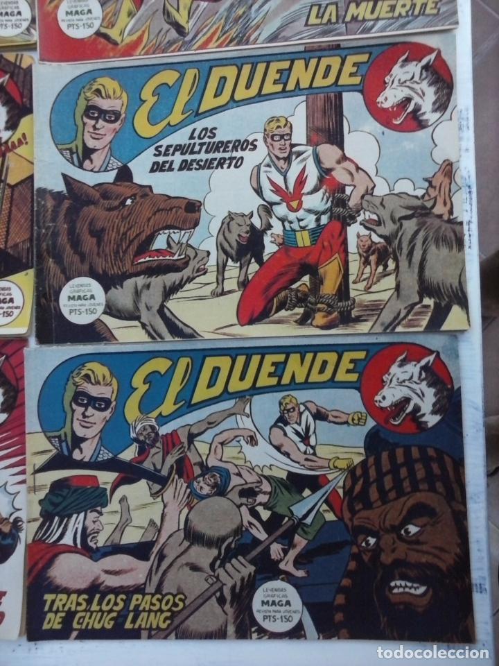 Tebeos: EL DUENDE ORIGINAL COMPLETA 1 AL 60 MUY BUEN ESTADO, VER PORTADAS - Foto 57 - 101571419