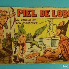 Tebeos: EL ENIGMA DE LAS ESTATUAS. PIEL DE LOBO Nº 81. EDITORIAL MAGA. ORIGINAL. ESTADO MALO. Lote 101571451