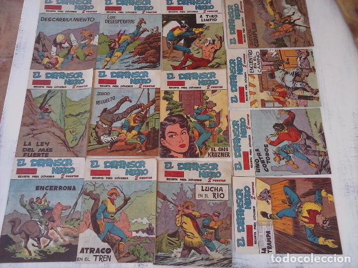 Tebeos: EL DEFENSOR NEGRO ORIGINAL TAMAÑO GRANDE 1 A 40, VER IMAGENES - Foto 3 - 101572283