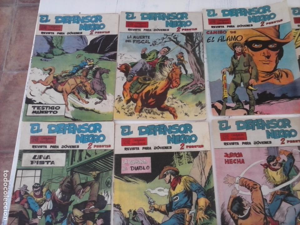 Tebeos: EL DEFENSOR NEGRO ORIGINAL TAMAÑO GRANDE 1 A 40, VER IMAGENES - Foto 11 - 101572283