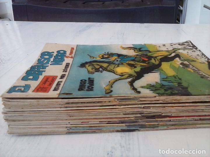 Tebeos: EL DEFENSOR NEGRO ORIGINAL TAMAÑO GRANDE 1 A 40, VER IMAGENES - Foto 13 - 101572283