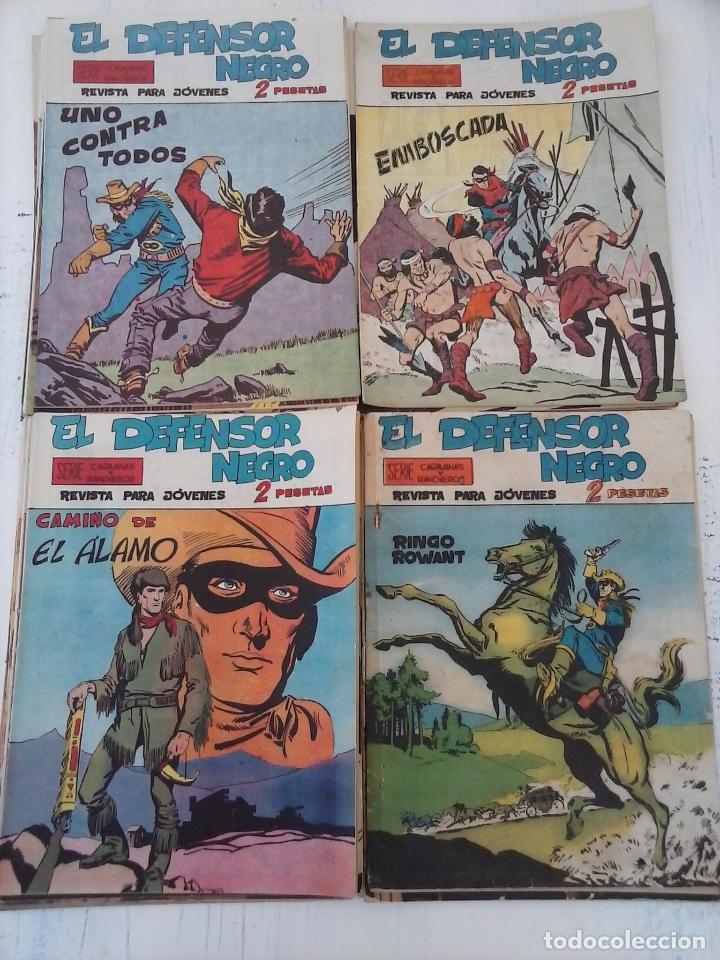 Tebeos: EL DEFENSOR NEGRO ORIGINAL TAMAÑO GRANDE 1 A 40, VER IMAGENES - Foto 15 - 101572283