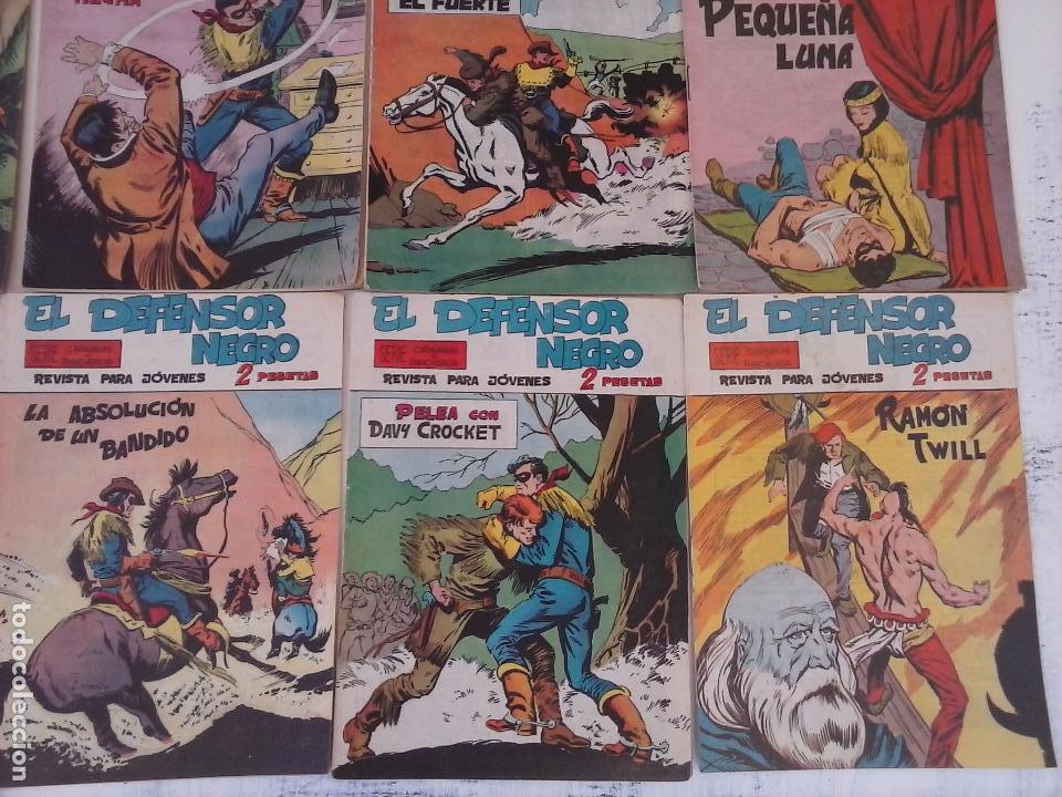Tebeos: EL DEFENSOR NEGRO ORIGINAL TAMAÑO GRANDE 1 A 40, VER IMAGENES - Foto 16 - 101572283