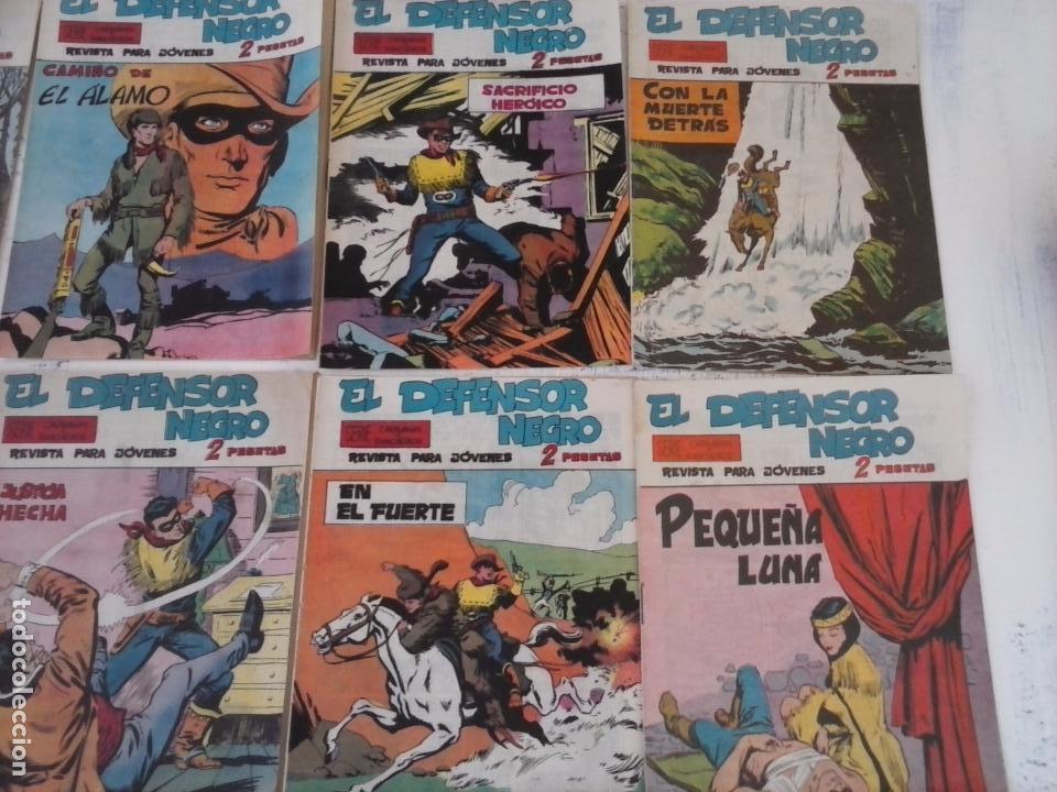 Tebeos: EL DEFENSOR NEGRO ORIGINAL TAMAÑO GRANDE 1 A 40, VER IMAGENES - Foto 18 - 101572283