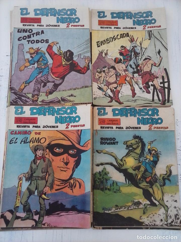 Tebeos: EL DEFENSOR NEGRO ORIGINAL TAMAÑO GRANDE 1 A 40, VER IMAGENES - Foto 19 - 101572283
