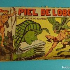 Tebeos: EN EL PAÍS DE LAS ESFINGES. PIEL DE LOBO Nº 80. EDITORIAL MAGA. COMPLETO Y ORIGINAL.. Lote 101576551