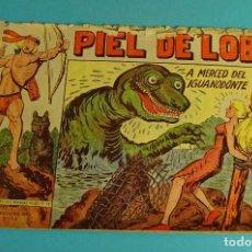 Tebeos: A MERCED DEL IGUANODONTE. PIEL DE LOBO Nº 86. EDITORIAL MAGA. Lote 101577023