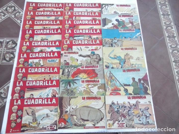 LA CUADRILLA ORIGINAL COMPLETA Y SUELTA - 1 AL 45 - EDI. MAGA 1961 -VER TODAS LAS PORTADAS (Tebeos y Comics - Maga - Otros)