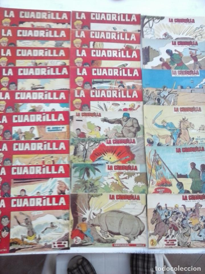Tebeos: LA CUADRILLA ORIGINAL COMPLETA Y SUELTA - 1 AL 45 - EDI. MAGA 1961 -VER TODAS LAS PORTADAS - Foto 2 - 102019691
