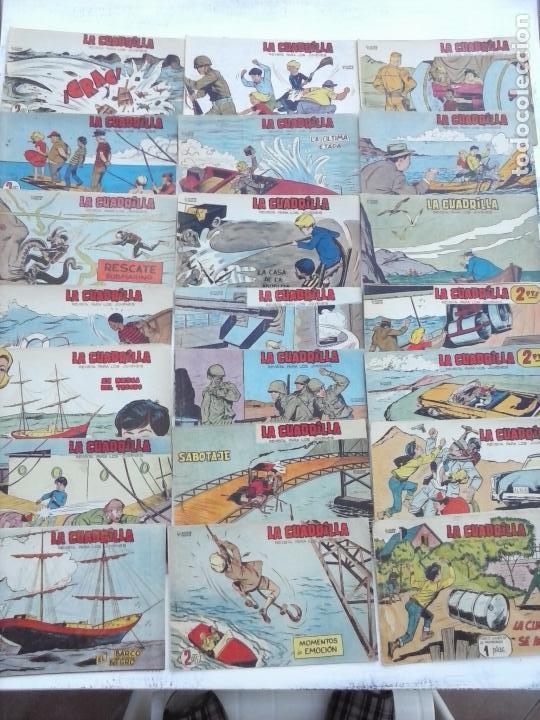 Tebeos: LA CUADRILLA ORIGINAL COMPLETA Y SUELTA - 1 AL 45 - EDI. MAGA 1961 -VER TODAS LAS PORTADAS - Foto 3 - 102019691