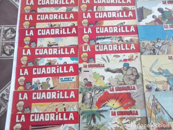 Tebeos: LA CUADRILLA ORIGINAL COMPLETA Y SUELTA - 1 AL 45 - EDI. MAGA 1961 -VER TODAS LAS PORTADAS - Foto 4 - 102019691