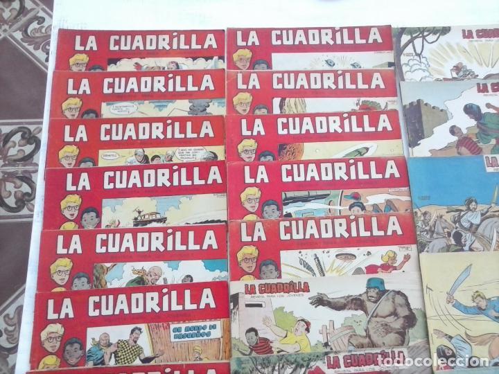 Tebeos: LA CUADRILLA ORIGINAL COMPLETA Y SUELTA - 1 AL 45 - EDI. MAGA 1961 -VER TODAS LAS PORTADAS - Foto 5 - 102019691