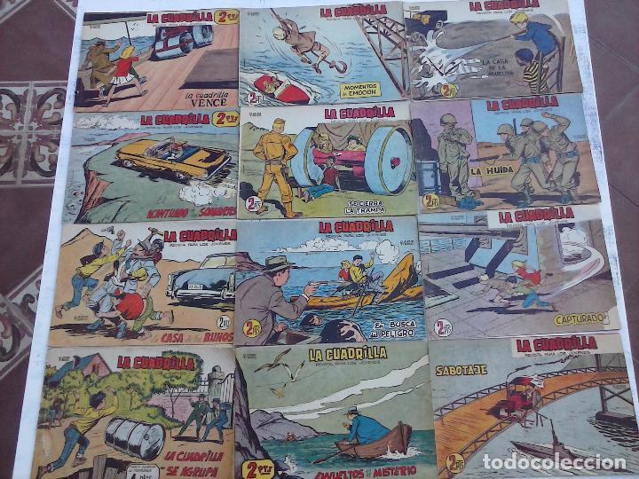 Tebeos: LA CUADRILLA ORIGINAL COMPLETA Y SUELTA - 1 AL 45 - EDI. MAGA 1961 -VER TODAS LAS PORTADAS - Foto 6 - 102019691