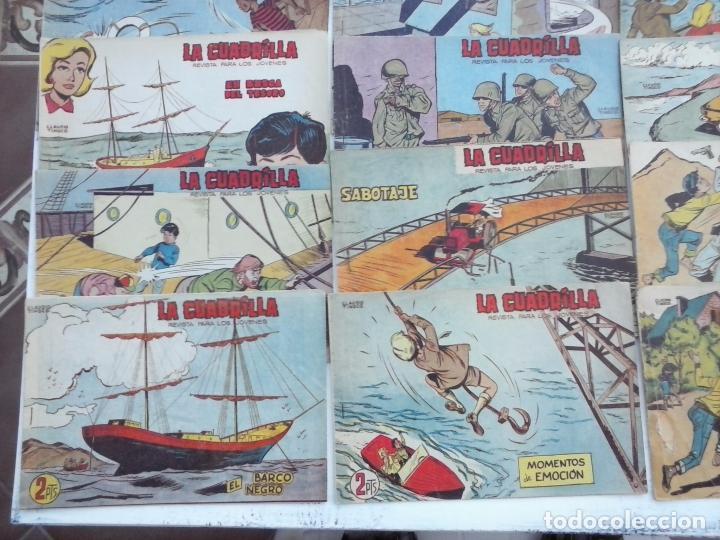 Tebeos: LA CUADRILLA ORIGINAL COMPLETA Y SUELTA - 1 AL 45 - EDI. MAGA 1961 -VER TODAS LAS PORTADAS - Foto 7 - 102019691