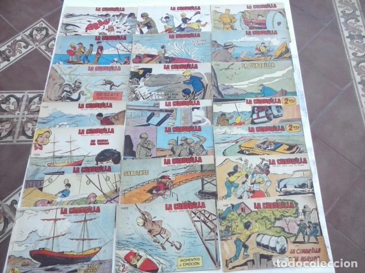 Tebeos: LA CUADRILLA ORIGINAL COMPLETA Y SUELTA - 1 AL 45 - EDI. MAGA 1961 -VER TODAS LAS PORTADAS - Foto 8 - 102019691