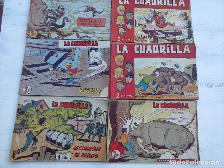 Tebeos: LA CUADRILLA ORIGINAL COMPLETA Y SUELTA - 1 AL 45 - EDI. MAGA 1961 -VER TODAS LAS PORTADAS - Foto 9 - 102019691